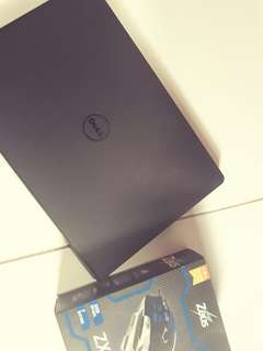 Dell inspiron 15 with Zues ZX-310 gaming mouse
