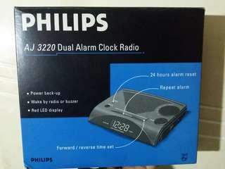 飛利蒲鬧鐘收音機