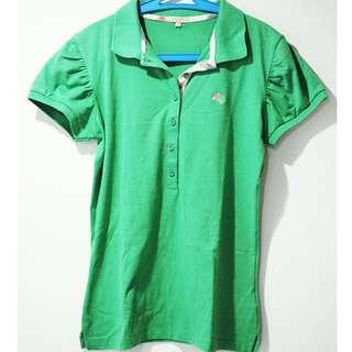 Kemeja Hijau Green Shirt Burberry Brit