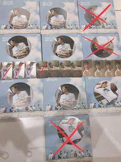 WTS Pentagon positive unsealed album+pc