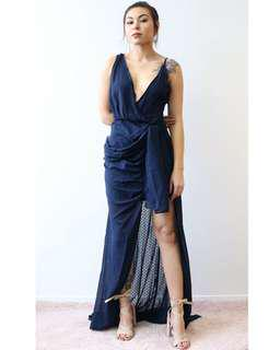 Take Me To Cannes Maxi - Navy XS-XL