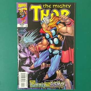 The Mighty Thor No.5 comic