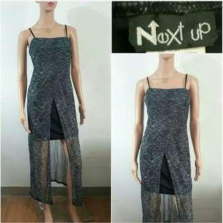 (S)  Next Up evening formal dress