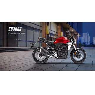 Pre-order!! Honda CB300R