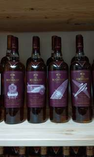 Macallan Whiskey Maker's Edition 1set 4 bottles
