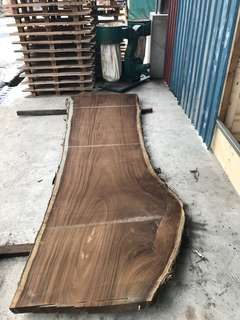 One and Only - single cut solid timber top