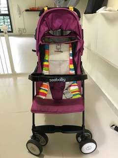Adjustable foldable Seebaby stroller (Model #QQ3)