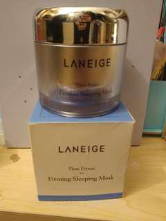 💯新🈹專門店買Laneige Time Freeze Firming Sleeping Mask 凝止時空緊缴睡眠面膜 60mL