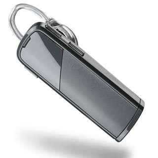 Plantronics Explorer 80 Bluetooth Headset - Retail Packaging - Sable Grey