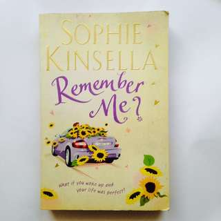 Remember Me Sophie Kinsella