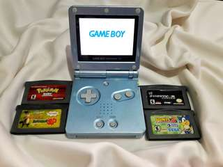 Metalic Blue Gba sp Brighter AGS 101 Gameboy Advance