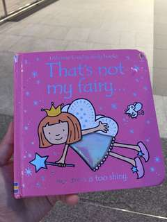 Usborne That's not my fairy...