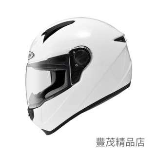 🚚 ZEUS 瑞獅 ZS-811 ZS 811 素色 全罩 安全帽 - 白