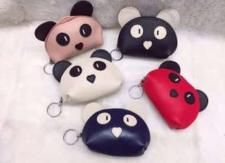 Panda Coin Purse Wallet