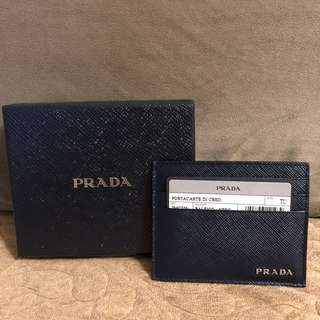 Prada card holder (men)