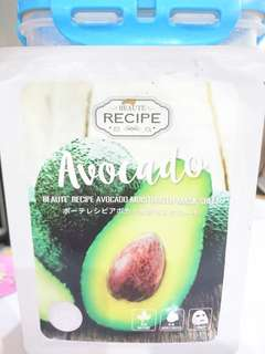 Beaute Recipe Avocado Sheet Mask