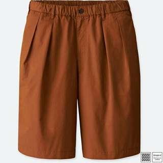 全新 吊牌未拆 uniqlo u lemaire  xl  寬版。短褲