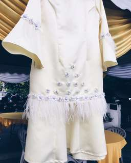SEWA baju nikah / baju tunang (colour cream)