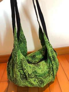 泰式 手袋 斜孭 購物 布織袋 Thailand hand made shopping bag