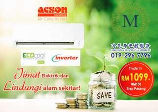 Acson Inverter 1hp RM1199