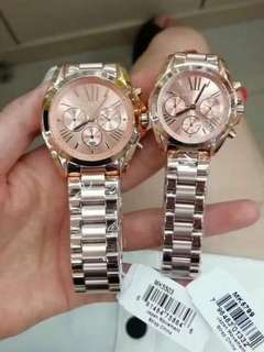 MK ROSEGOLD AUTHENTIC WATCH