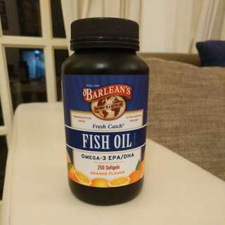 Fish Oil EPA / DHA - Barlean's Organic