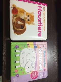 Baby board books in german