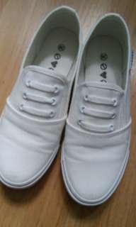 ❤白色帆布鞋❤