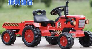 🚚 Kids ride on BIG electric tractor