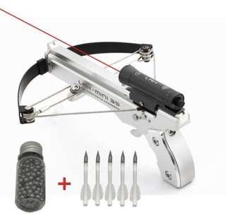 🚚 Mini Super Aluminum Alloy Crossbows With Laser