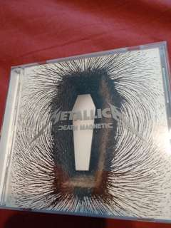 Rock/Metal CD - Rare Japan Press Metallica Death Magnetic