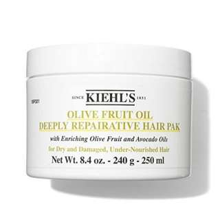 Kiehl's Olive Fruit Oil Deeply Repairative Hair Pak (250ml/8oz)