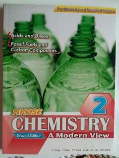 全新 Chemistry 2 HKDSE A Modern View Second edition 100% New