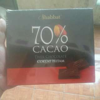 Shabbat dark chocolate