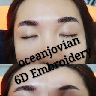 Eyebrow Embroidery,Eyelash extension,Facial