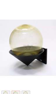 6-inch Wall Globe Light (Prismatic Gold) x 2