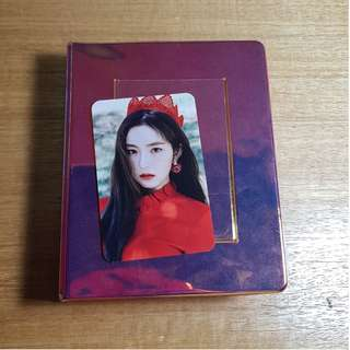 Red Velvet IRENE Photocard Collect Book [RARE/LIMITED]
