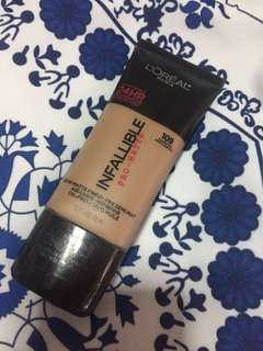 Infallible Loreal Paris Pro Matte Foundation