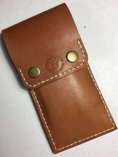 Leather 3-pen holder
