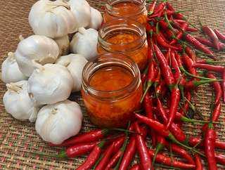 Homemade Chili Garlic ❤️