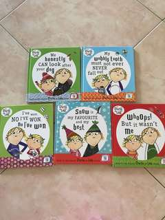 Charlie and lola 5 books