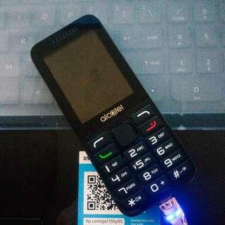 Alcatel - keypad phone
