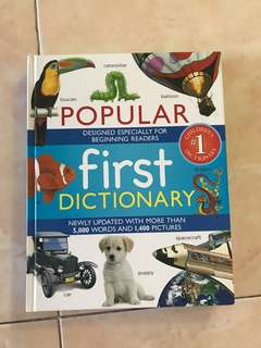 Popular first dictionary