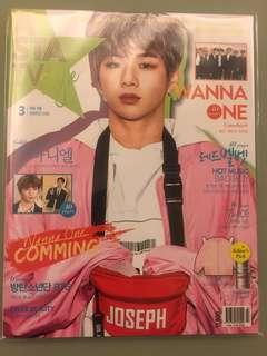 (韓星雜誌)Red Velvet Wanna One Statv Style全新未拆雙封面男團