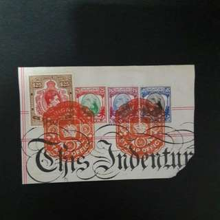 Singapore Revenue stamps