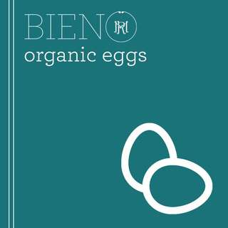 BIENO Organic Eggs - Large (by 4s)