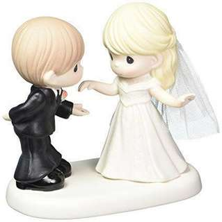 """Precious Moments Figurine """"May I Have This Dance For The Rest Of My Life"""""""