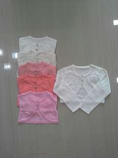 Brand NEW Girls Short Cardigan With Corsage Flower