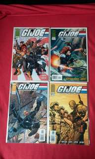 GIJoe #1-8 includes J Scott Campbell Covers!
