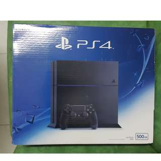 Sony Playstation PS4 Fat 500gb CFW Bajakan FW 4,55 HEN FULL 48 GAME